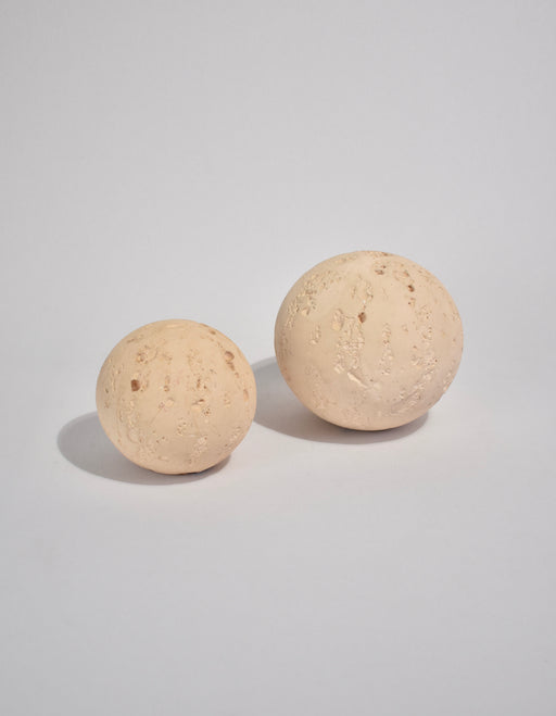 Cast Stone Orb Sculptures