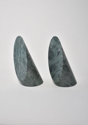 Sculptural Granite Bookends