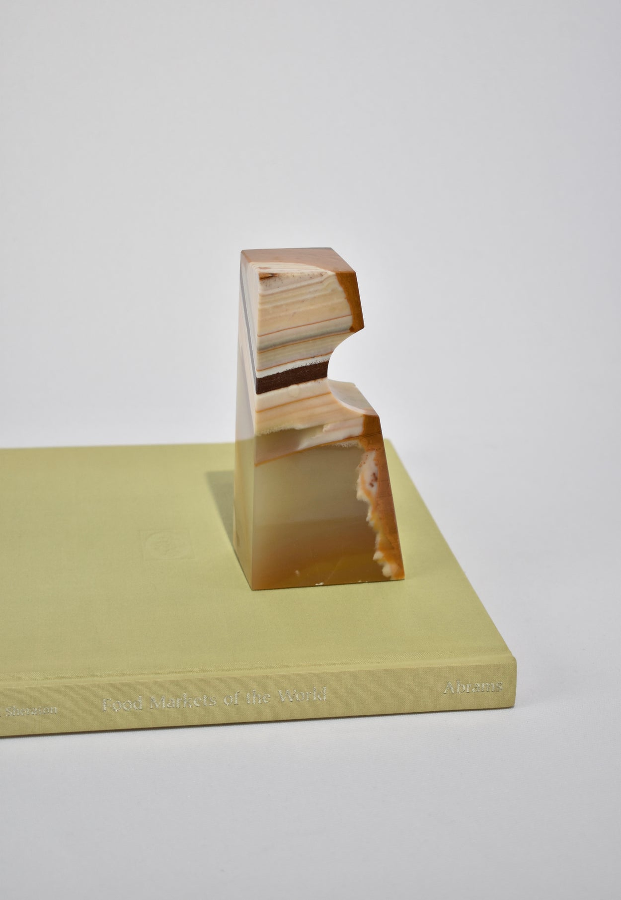 Onyx Bookend Set