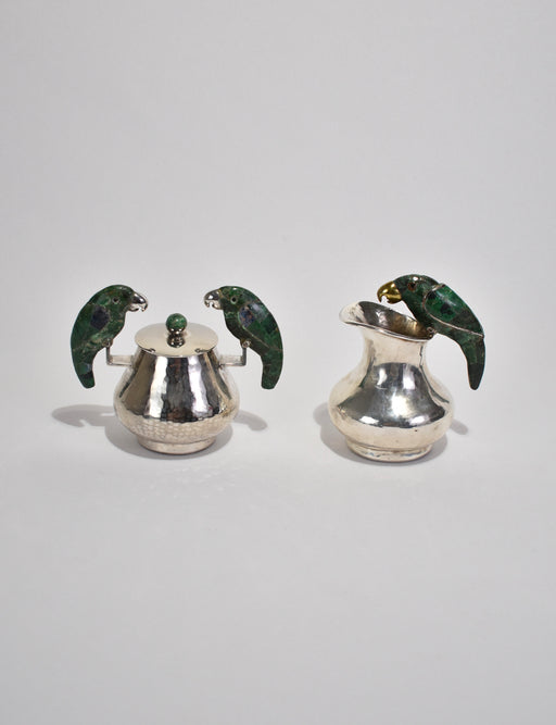 """Toucan"" Cream and Sugar Set"