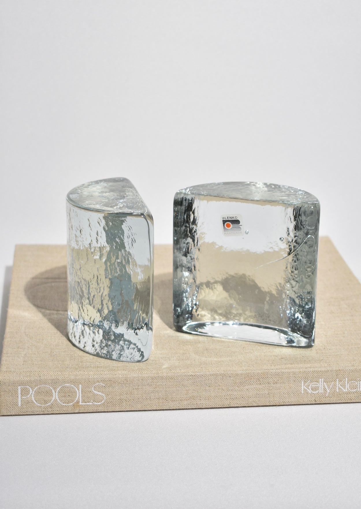 Sky Glass Bookends