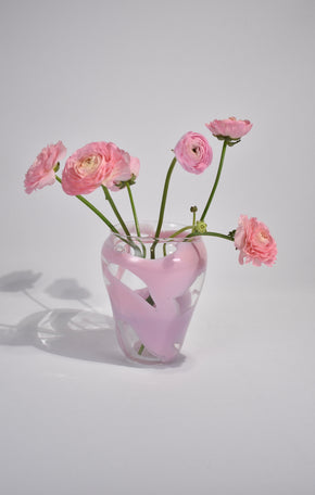 Abstract Pink Vase