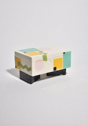 Postmodern Ceramic Box