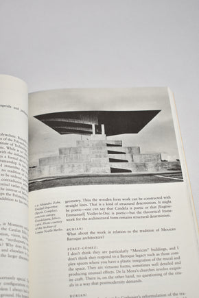 Modernity and the Architecture of Mexico