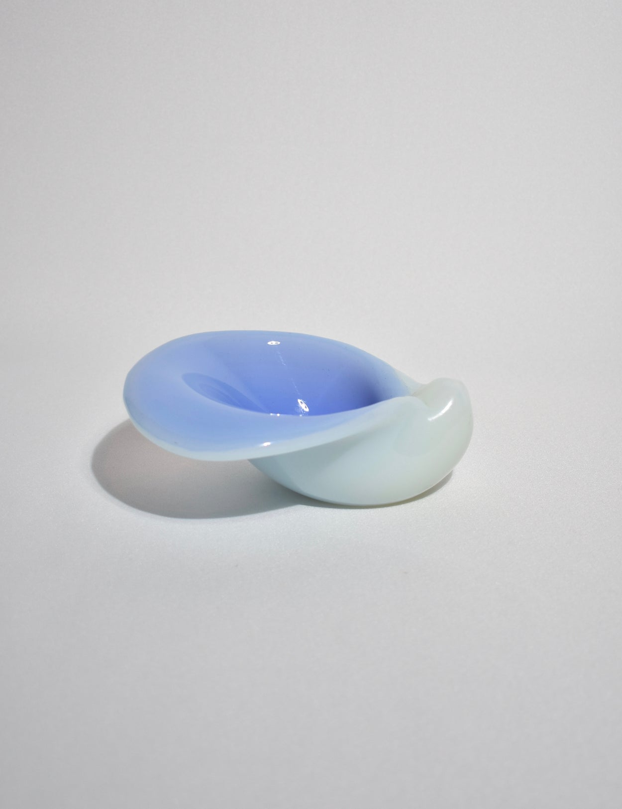 Opalescent Lilac Glass Bowl