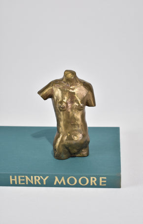 Brass Torso Sculpture