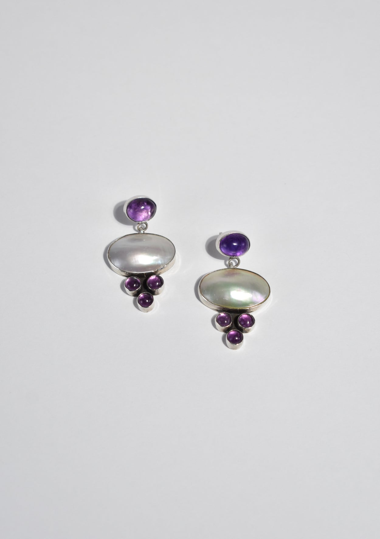 Sculptural Pearl Earrings