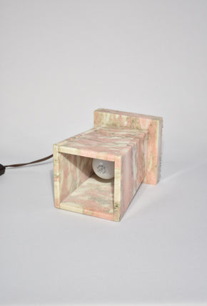 Pink Marble Lamp