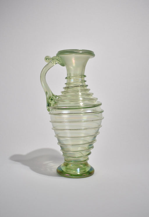 Iridescent Green Vase