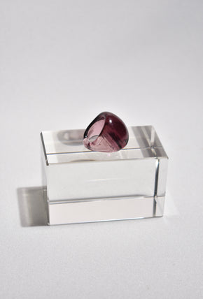 Hibiscus Glass Ring