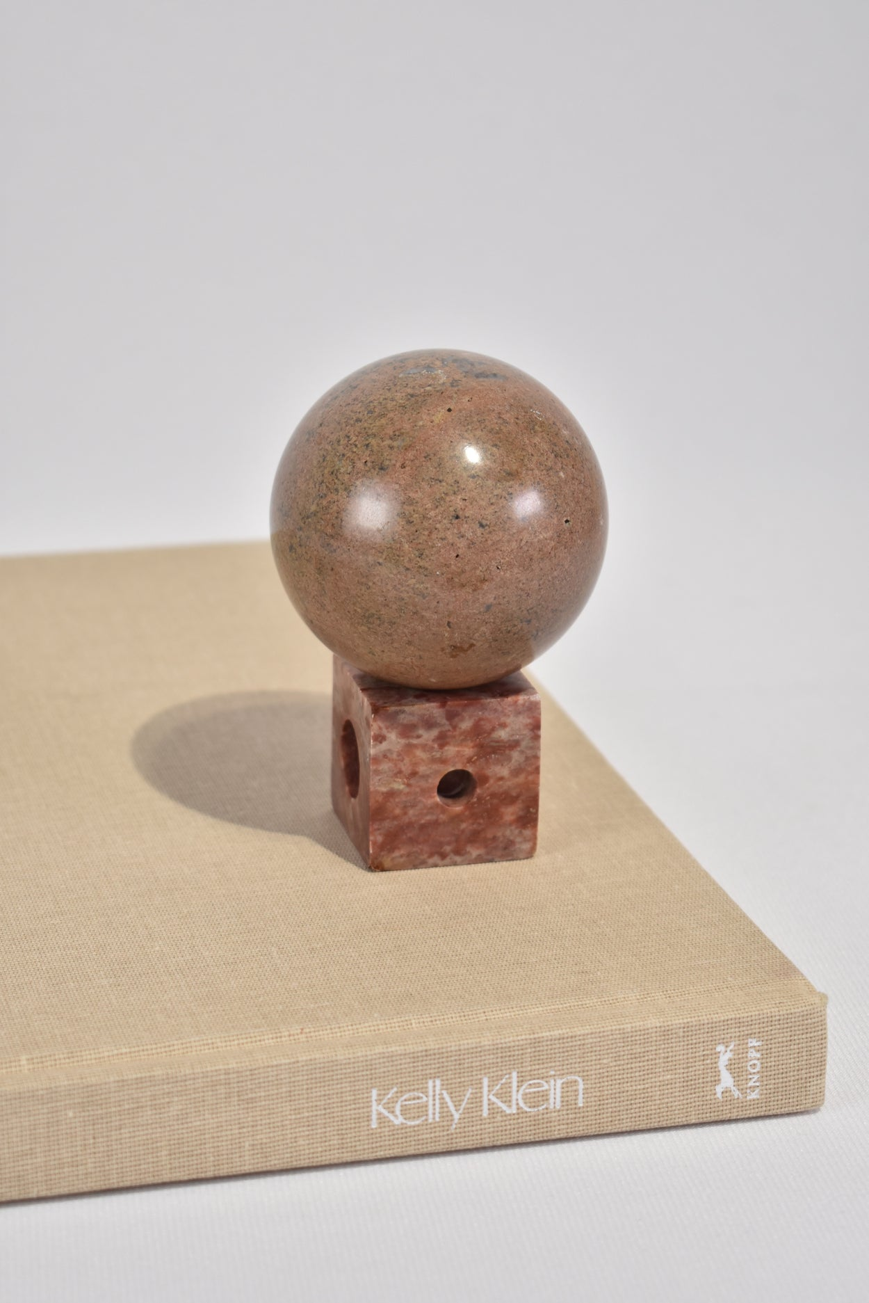 Marble Sphere Sculpture