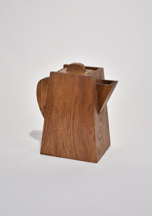 Sculptural Wooden Pitcher