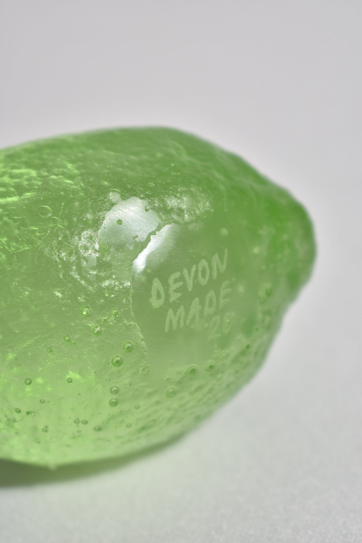 Glass Lemon in Lime