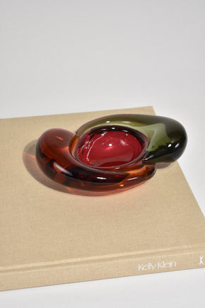Colorful Glass Catchall