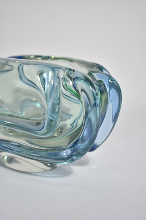 Sculptural Glass Bowl
