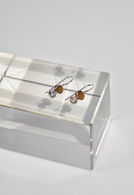 Petite Stone Earrings
