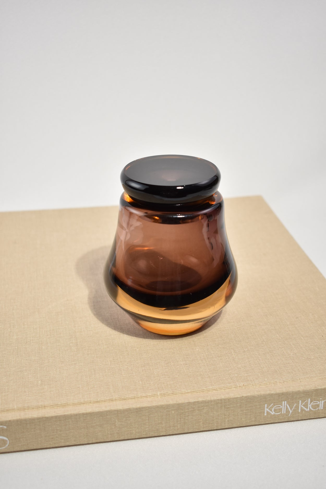 Glass Vanity Jar