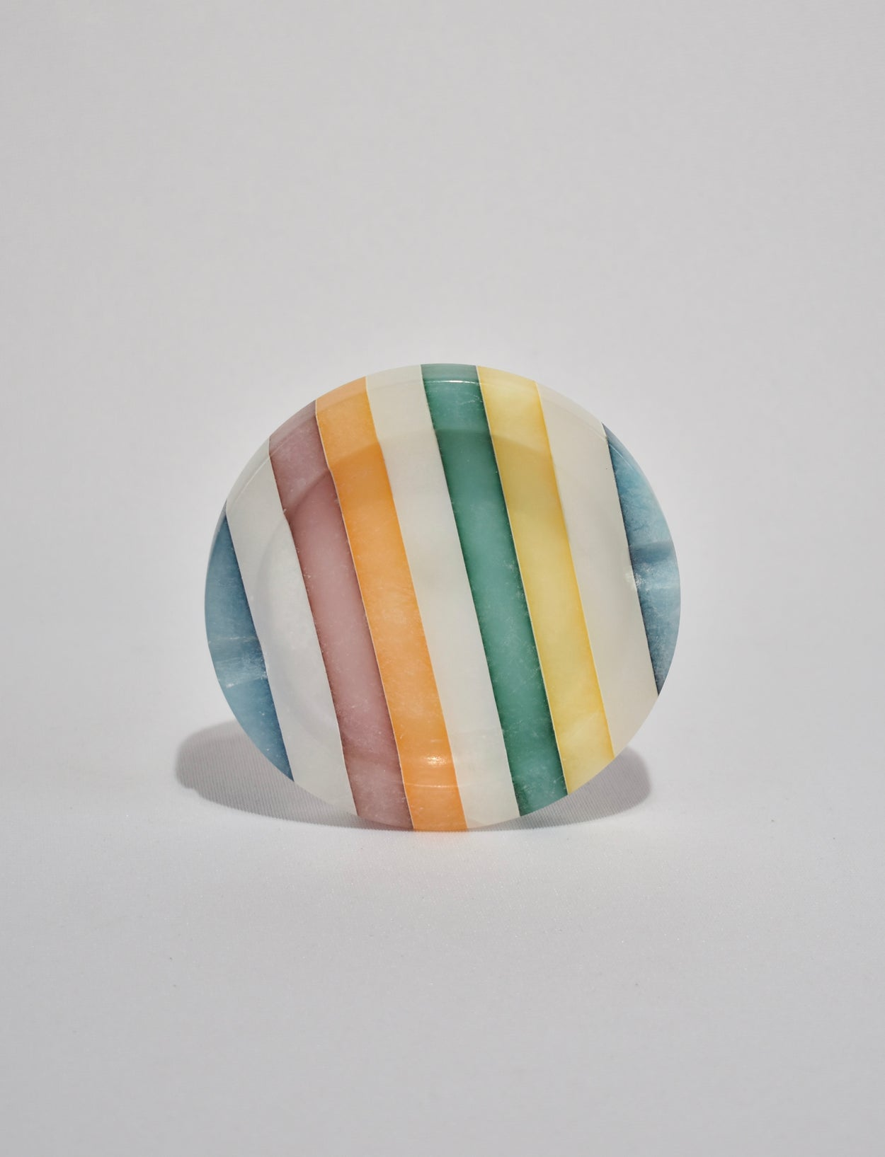 Striped Italian Ashtray