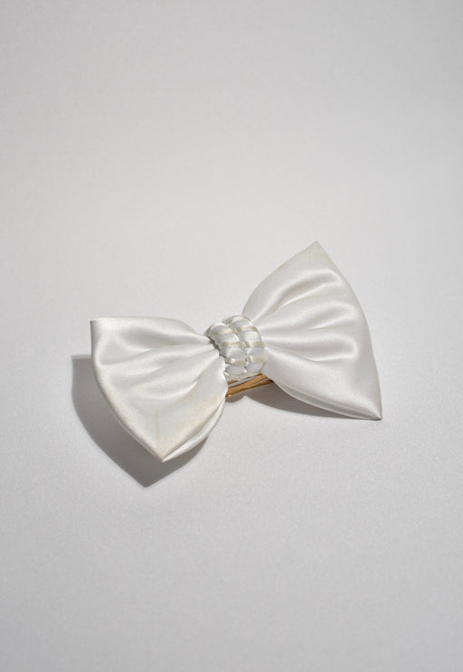 White Statement Bow