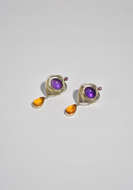 Colorful Modernist Earrings