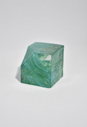 Abstract Cube Sculpture