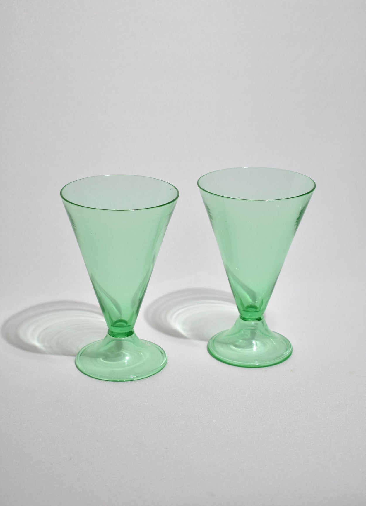 Pistachio Goblet Set of Four