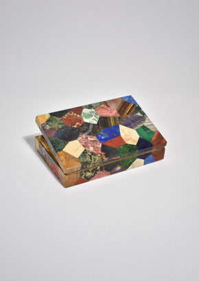 Patchwork Stone Box