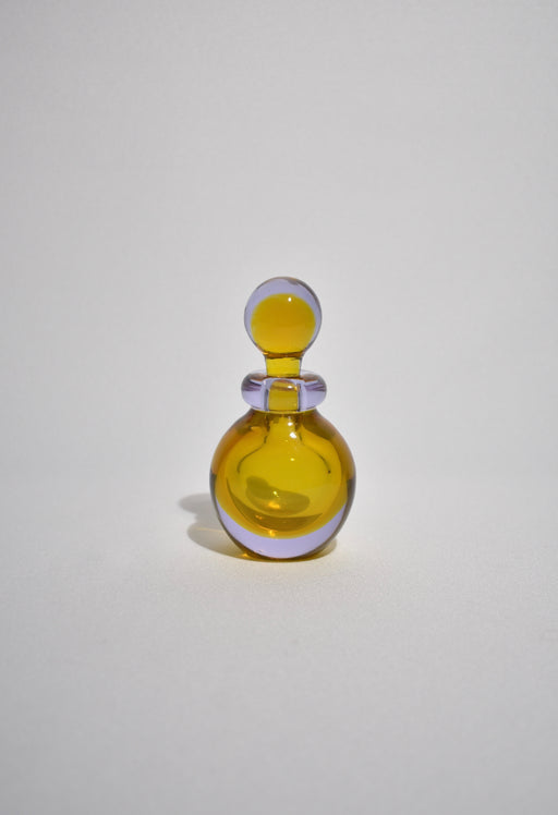 Italian Glass Perfume Bottle
