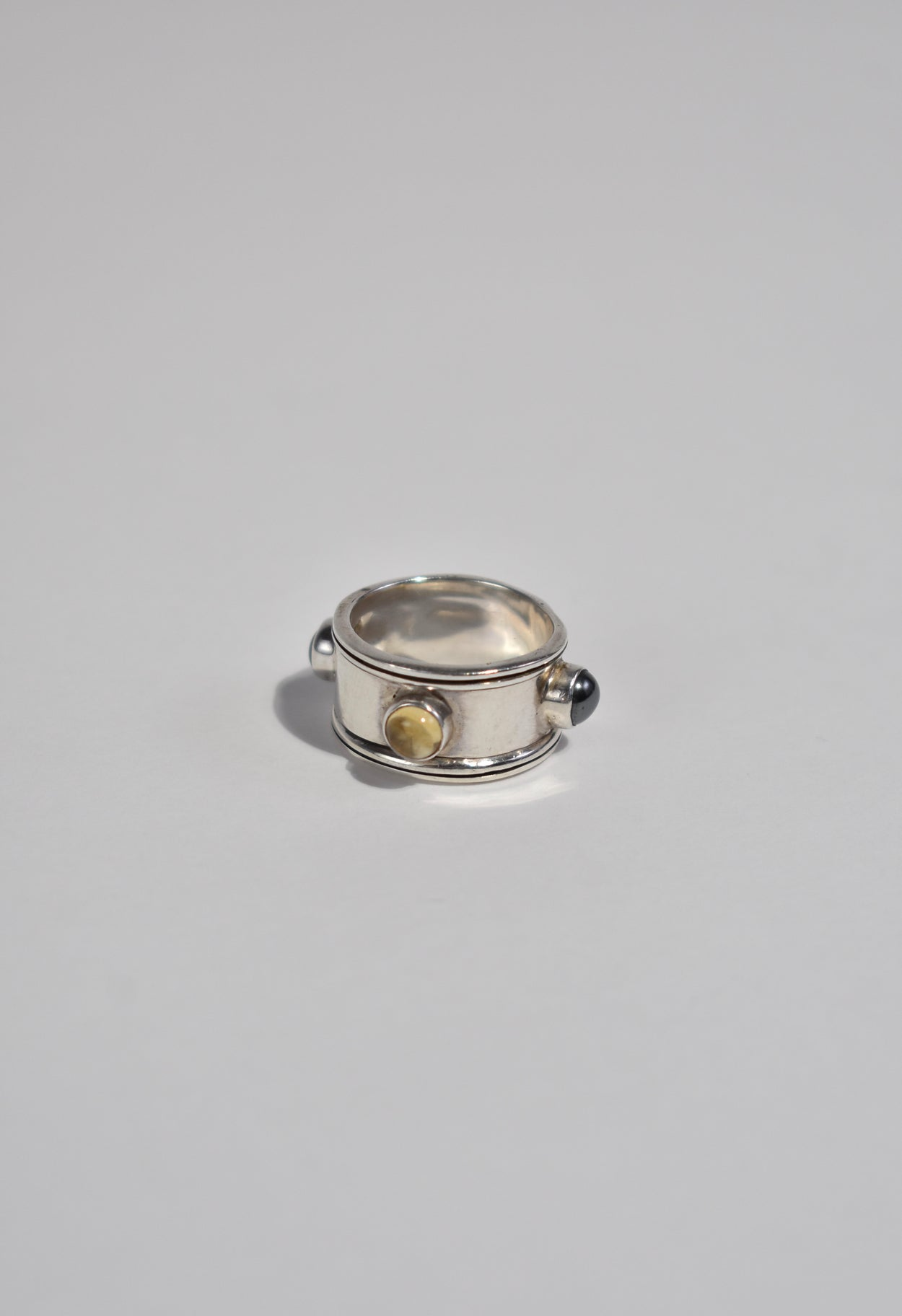 Sterling Pivot Ring