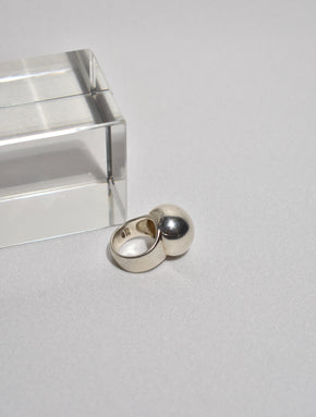 Silver Dome Ring