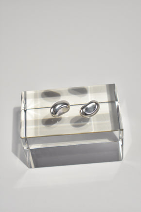 Sculptural Sterling Studs