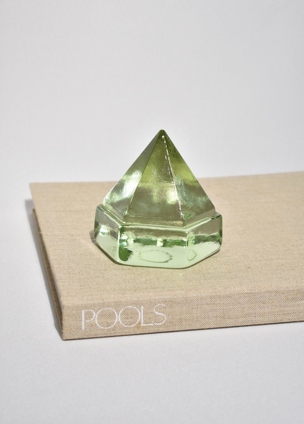 Green Glass Prism