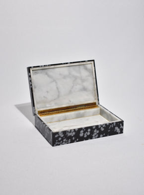 Obsidian Jewelry Box