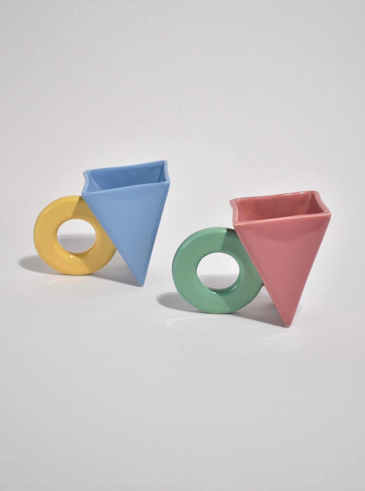 Postmodern Ceramic Mug Set