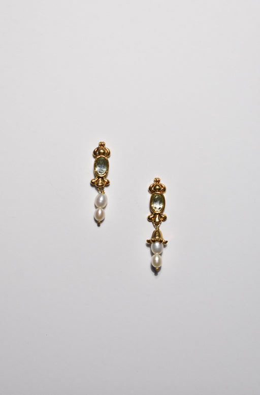 Pearl Quartz Earrings