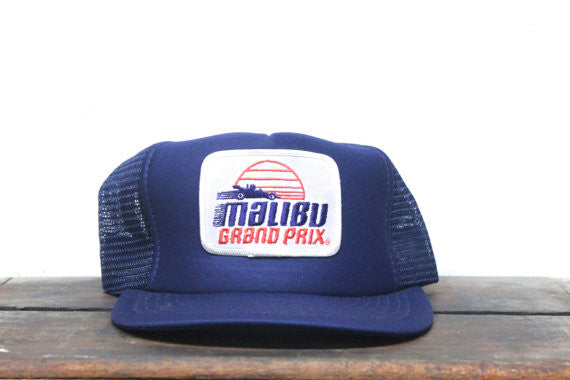 Malibu Grand Prix Snapback Trucker Hat