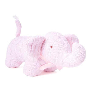 Baby Mode Cable Knit Elephant Pink