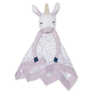 Lulujo Muslin Lovey Unicorn