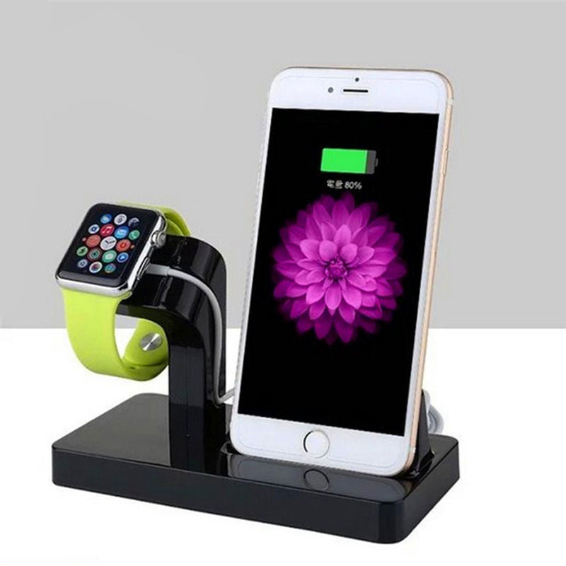 Charging Stand Holder For Apple Watch & iPhone