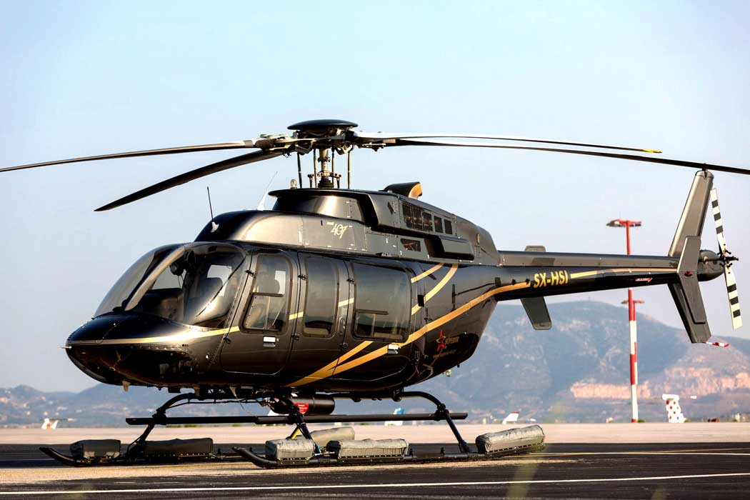 Bell Long Ranger 206L Helicopter