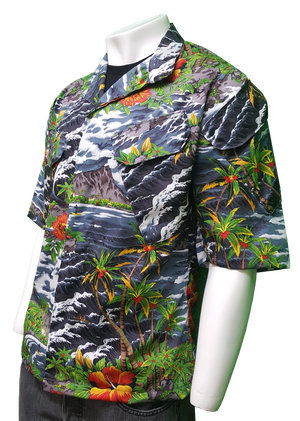 The Hawaiian Lion STV Shirt Ocean Urban