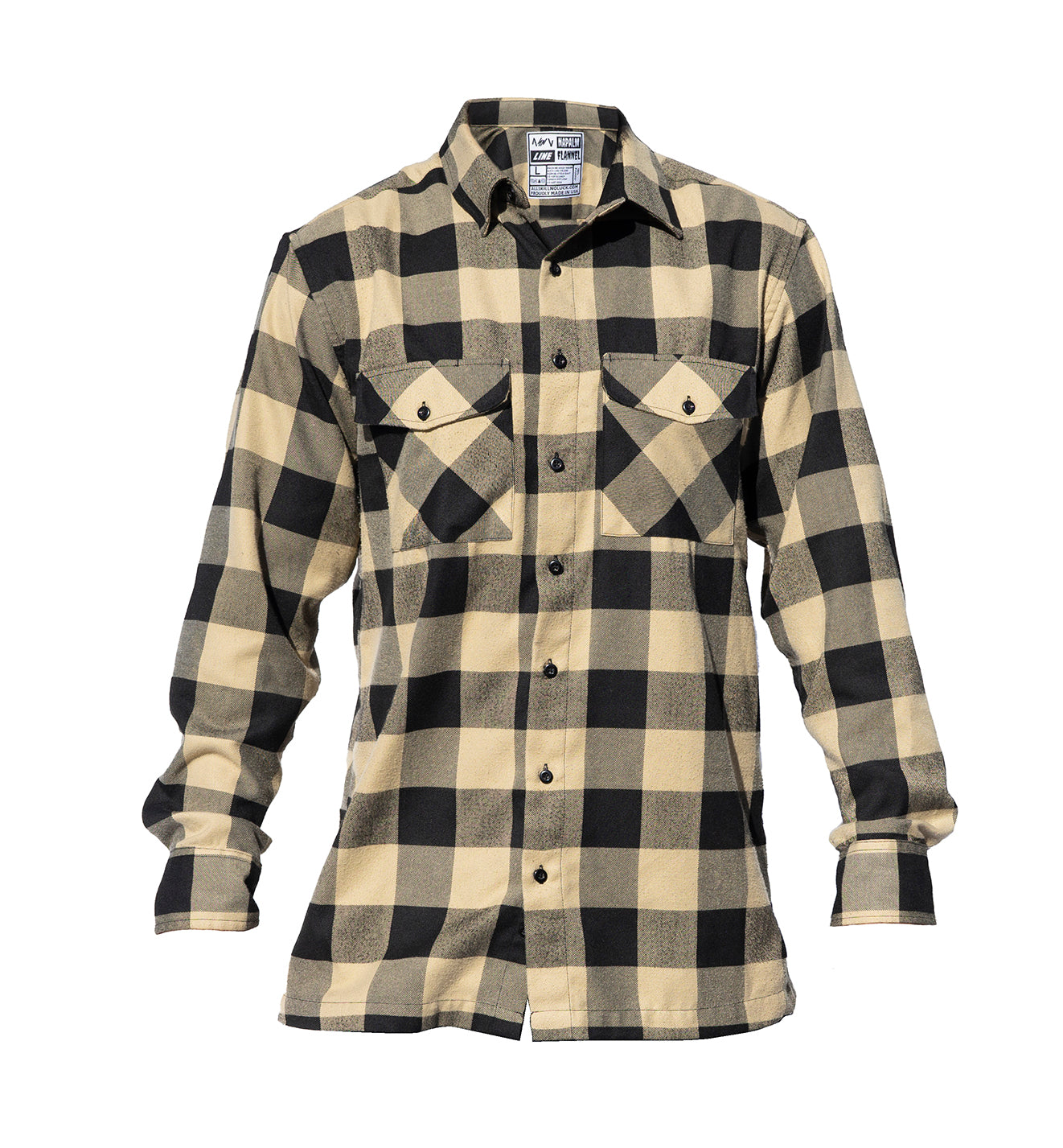 NAPALM FLANNEL Black & Tan