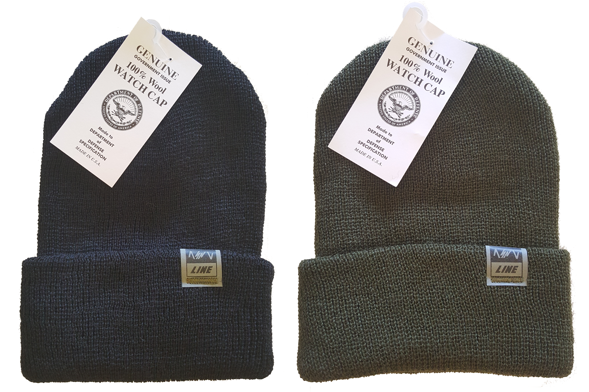 ASNL LINE Genuine G.I. Wool Watch Cap
