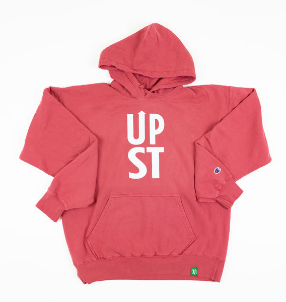 Red UPST Pullover Hoodie