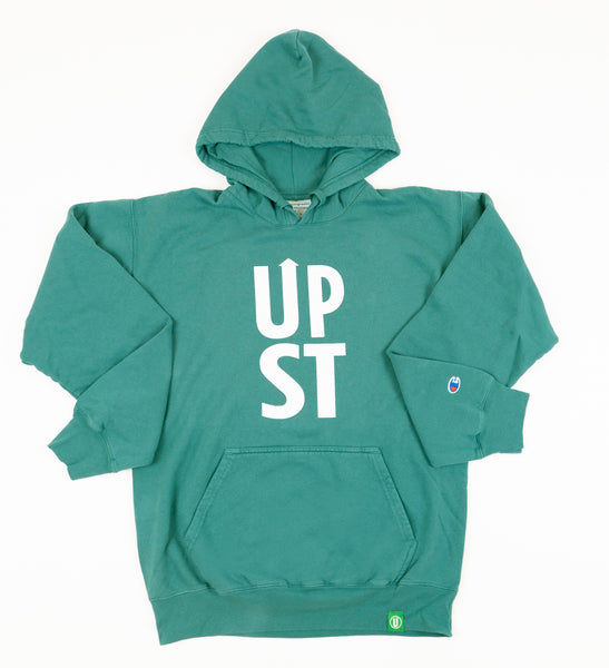 Green UPST Pullover Hoodie