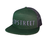 Green and Grey Tradesmen Hat