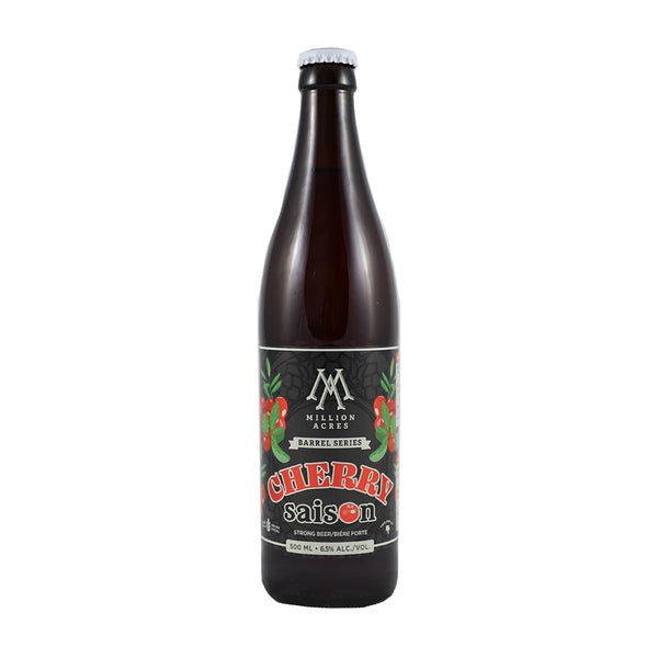Million Acres Barrel Aged Cherry Saison
