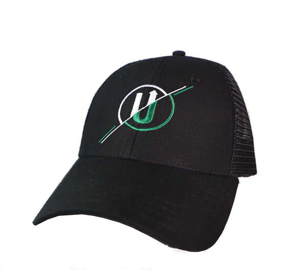 Black Mesh Ball Cap
