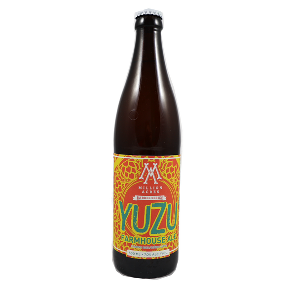 Million Acres Barrel Aged Yuzu Farmhouse Ale