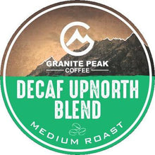 Load image into Gallery viewer, Decaf Up North Blend Single Cups 24ct